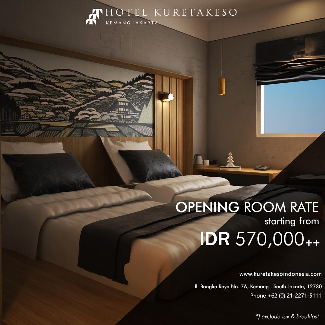 Opening Room Rate
